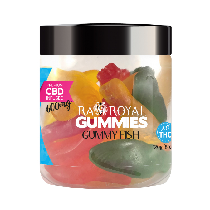 Royal Gummies CBD Swedish Fish 600mg