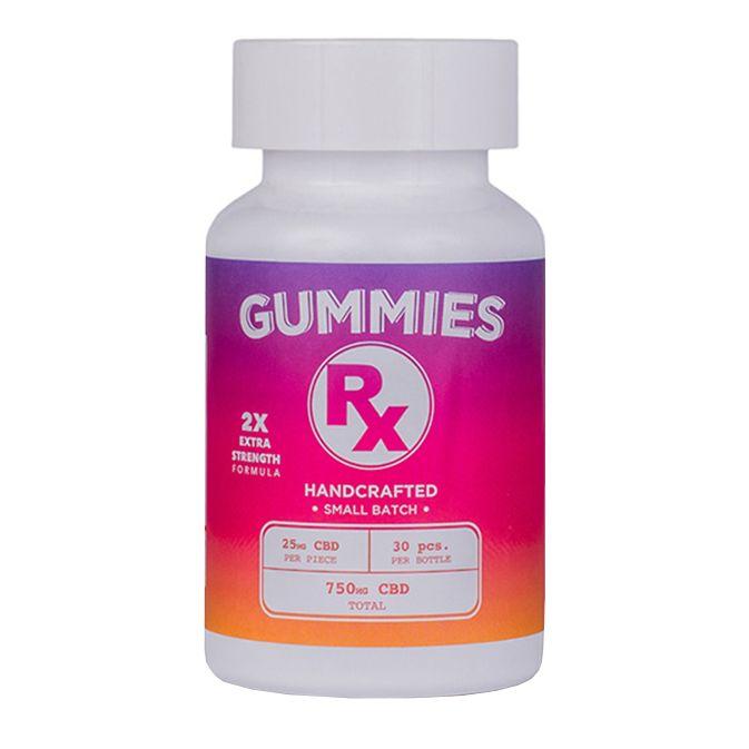 Kush Queen Gummies 2x Strength 750mg 30ct