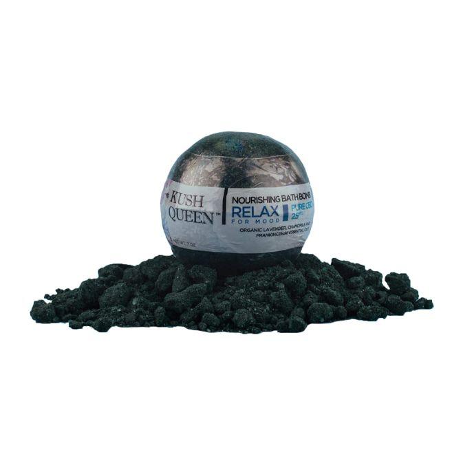 Kush Queen Bath Bomb Black Magic 25mg 7oz