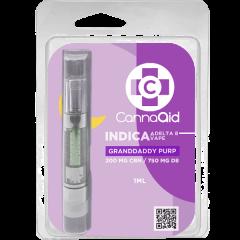 CannaAid PM Cart 200CBN/750D8 Granddaddy Purple 1gr