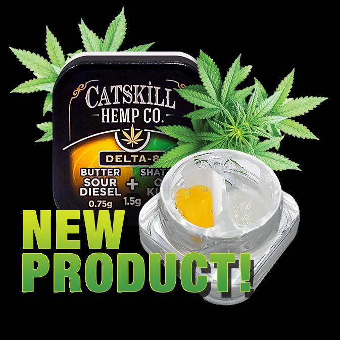 New Catskill Hemp Co. Butter & Shatter