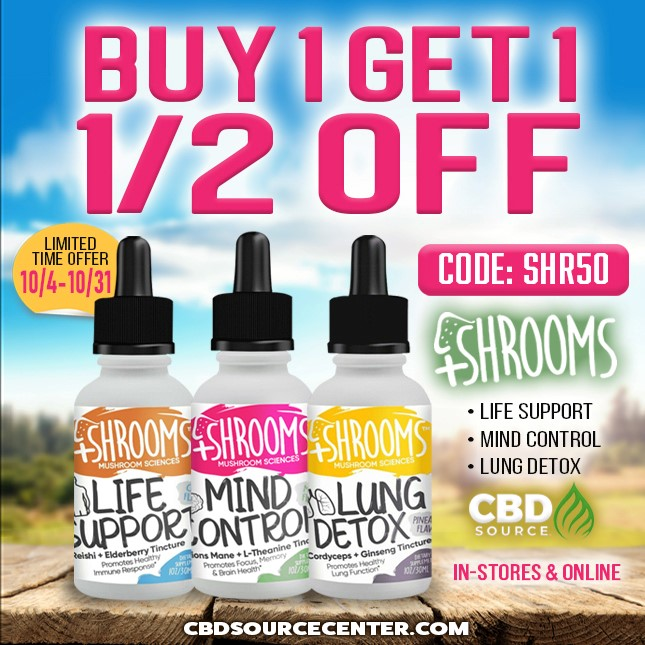 +Shrooms savings start on Friday, 9/10, and run until 9/17...